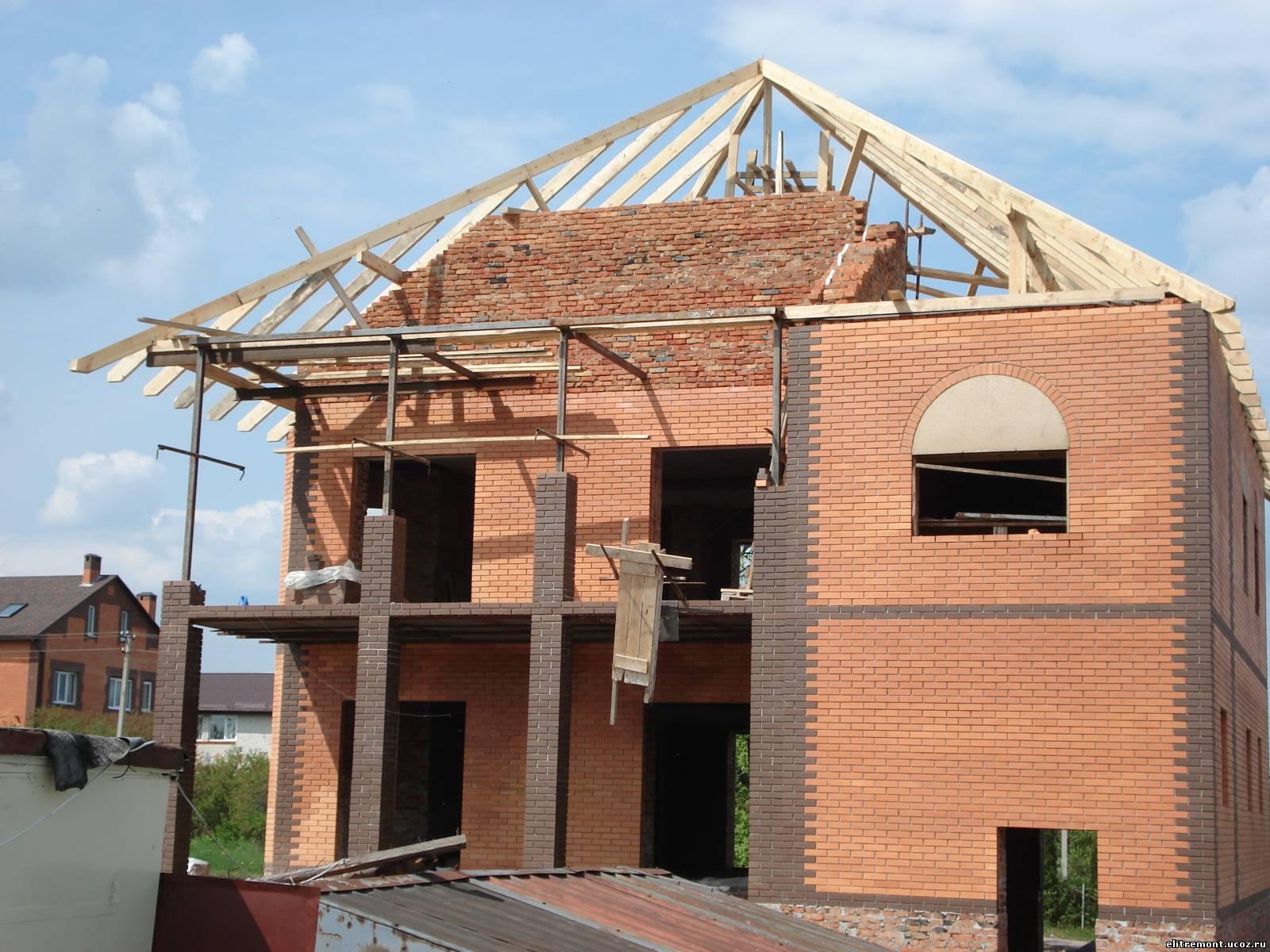 Строительство крыши с нуля своими руками